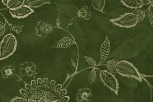 Jacobean Vine Dark Green
