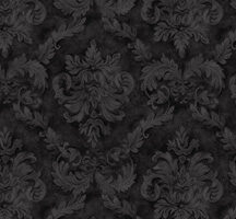 Damask Tonal  Black