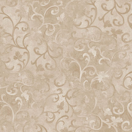Essential Scroll - Light Taupe