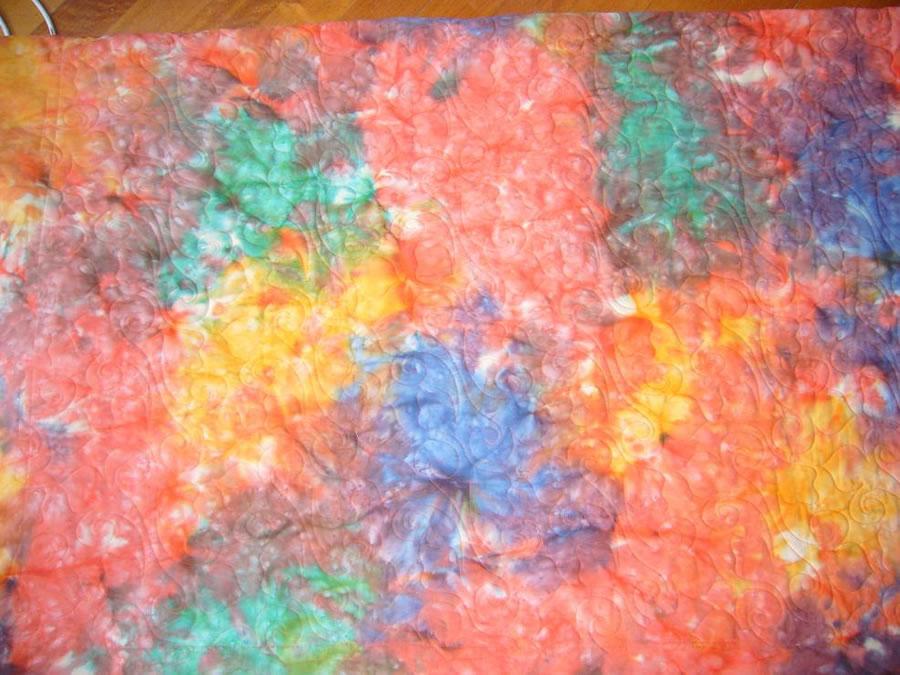 Tie Dye - Sunburst Orange