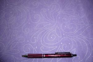 Marble Scroll  Lilac