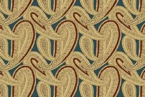 Civil War Journals Paisley Blue