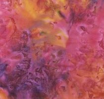 Mystical Tie Dye 'E' Tropical