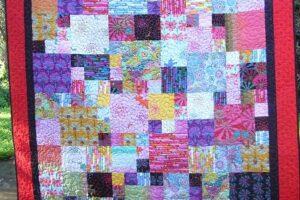 Bright Squares pattern