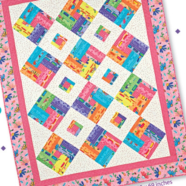 Hip to be Square: Honey Bun Pattern