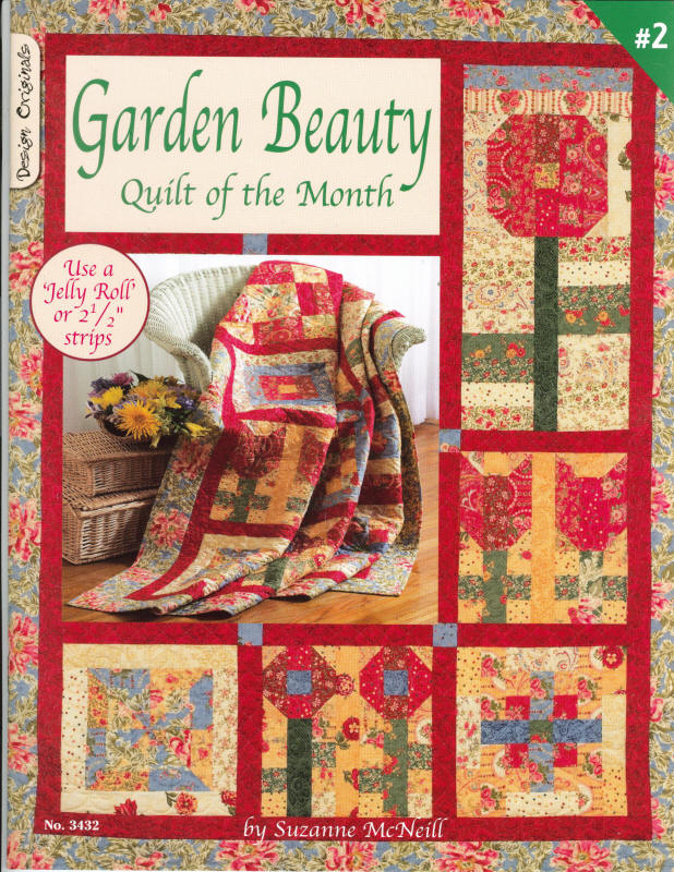 Garden Beauty - Quilt of the Month #2
