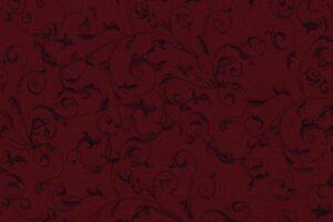 Rambling Scroll Burgundy