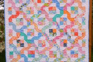 Winding Nine Patch pattern
