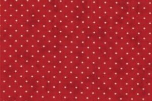 """Essential Dots 44"""" wide - COUNTRY RED"""