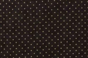 "Essential Dots 44"" wide -BLACK"