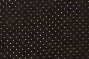 "Essential Dots 44"" wide -BLACK"