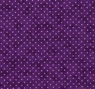 "Essential Dots 44"" wide - PURPLE"
