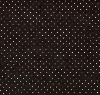 "Essential Dots 44"" wide - JET"