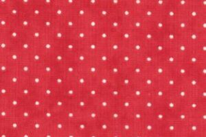 """Essential Dots 44"""" wide -XMAS RED"""