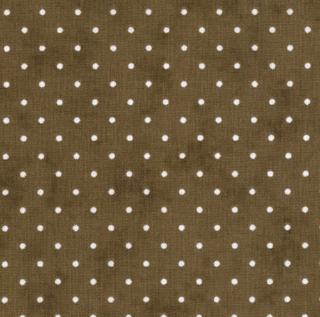 """Essential Dots 44"""" wide -COCOA"""