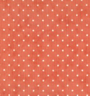 "Essential Dots 44"" wide -CORAL"