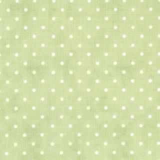 """Essential Dots 44"""" wide - SPRING GREEN"""
