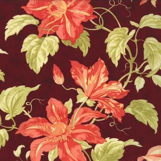 Tapestry Mallorco GARNET