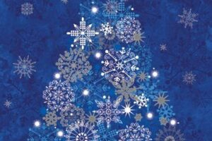 Starry Night BLUE panel