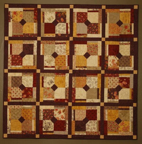 Pattern Mulberry Wine