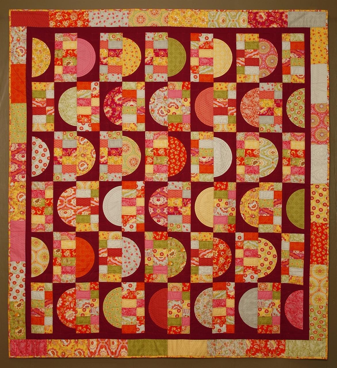 Pattern Half Way Round