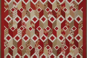 Pattern Ruby Squares
