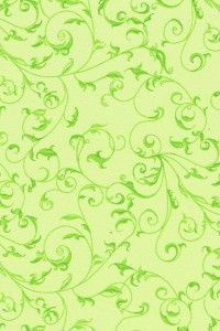 Rambling Scroll Lime