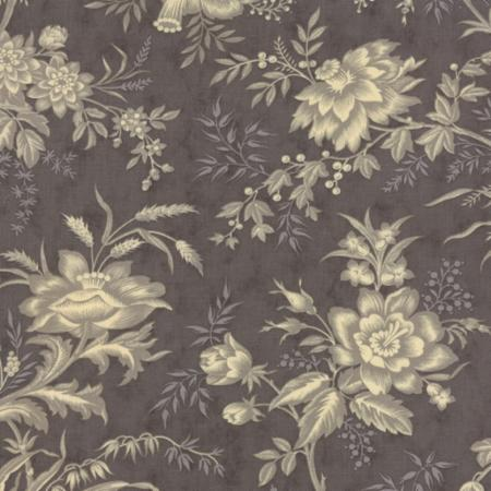 Atelier Floral Drapery Tonal Charcoal 44052 26