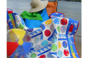 Beach Blanket Bingo  pattern  LLD 073