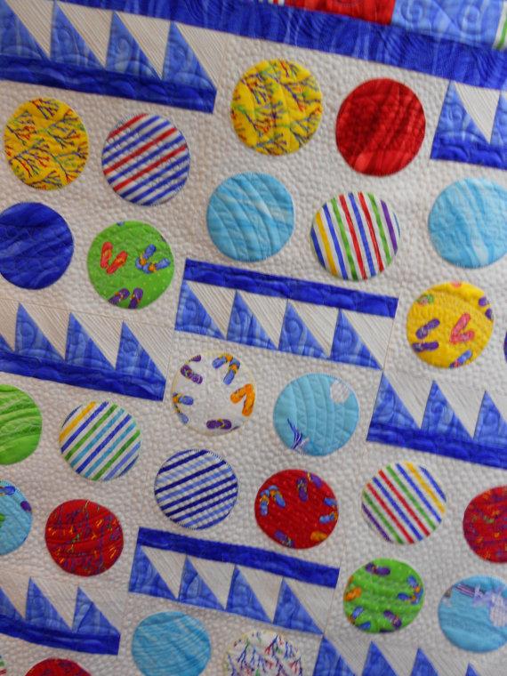 Beach Blanket Bingo  pattern  LLD 073