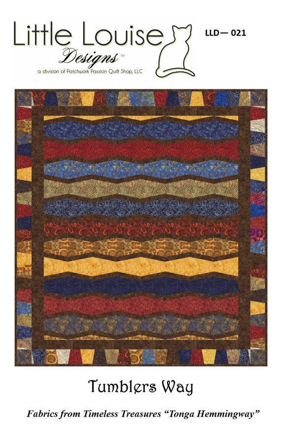 Tumblers Way pattern  LLD 021