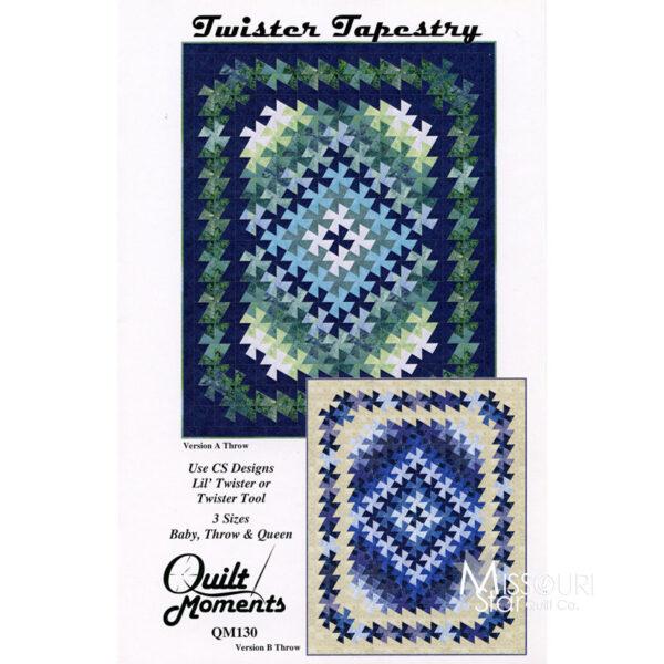 Pattern Twister Tapestry