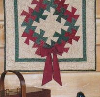 Pattern Twisted Christmas Wallhanging