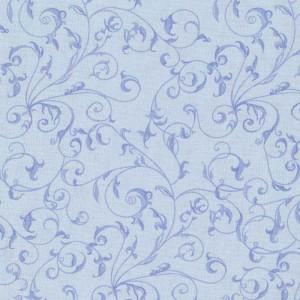 Rambling Scroll Soft Blue