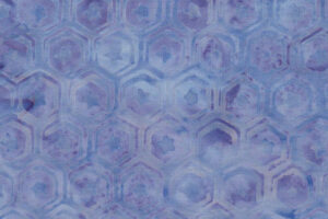 Anthology Batik 9585 Lt Blue Hexies