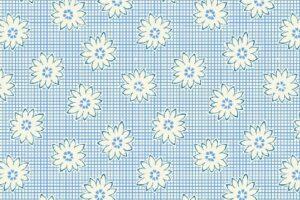 Storybook Daisy Check Blue 34150 1