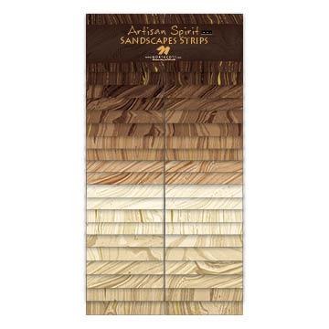 Sandscape Strips EARTH/LATTE