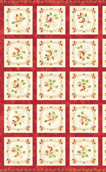 Songbird Raspberry  (Panel)