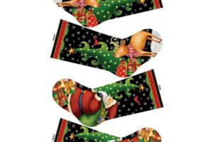 25 Days till Xmas Stocking panel 20609 99