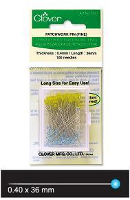 Clover Patchwork Pins  (Fine)  CV2507