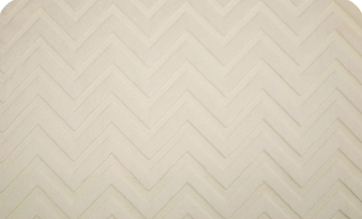 Chevron Cuddle Ivory (Minky)