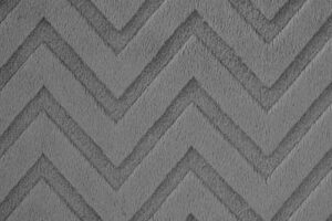 Chevron Cuddle Charcoal (Minky)