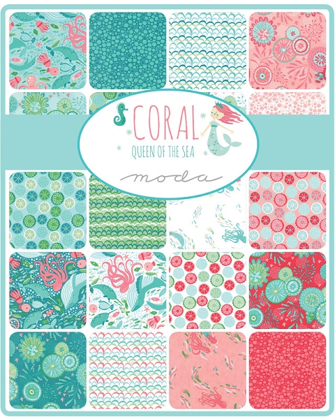 Coral of  the Sea Jelly Roll