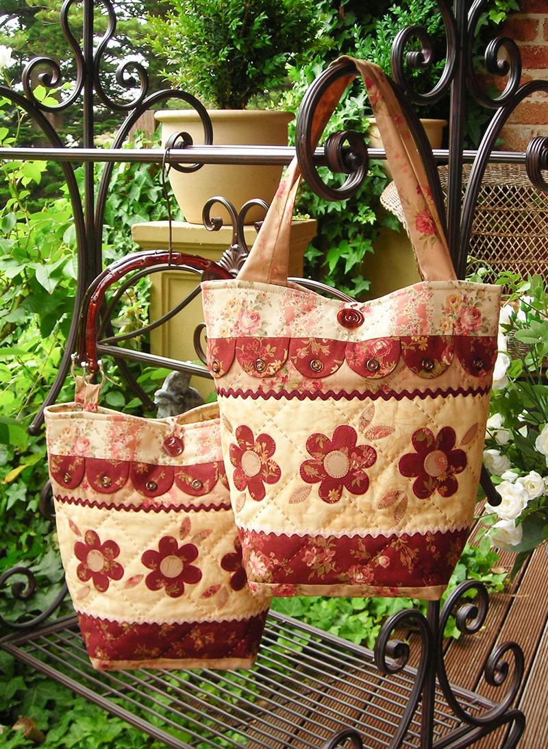 Dilly Dally Daisy Bag pattern