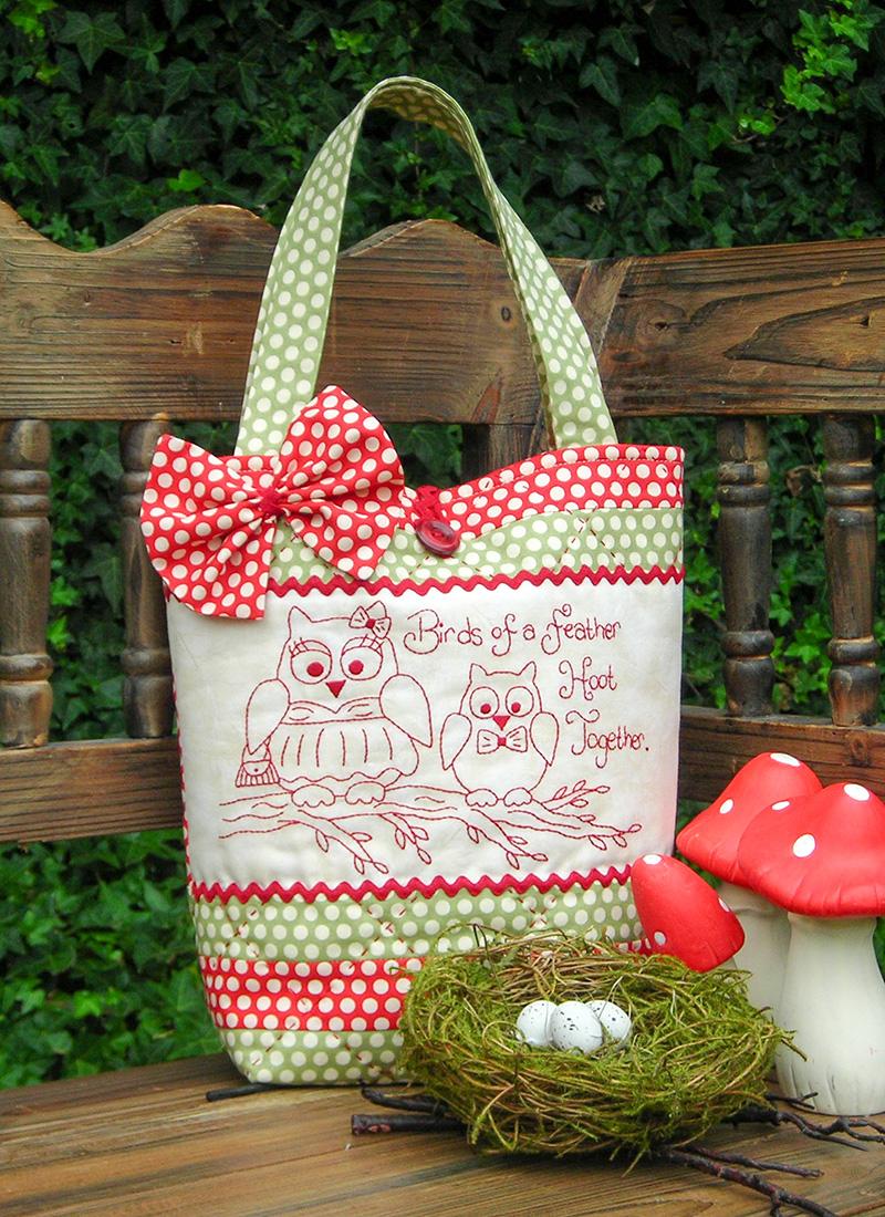 Hoot Together Bag pattern