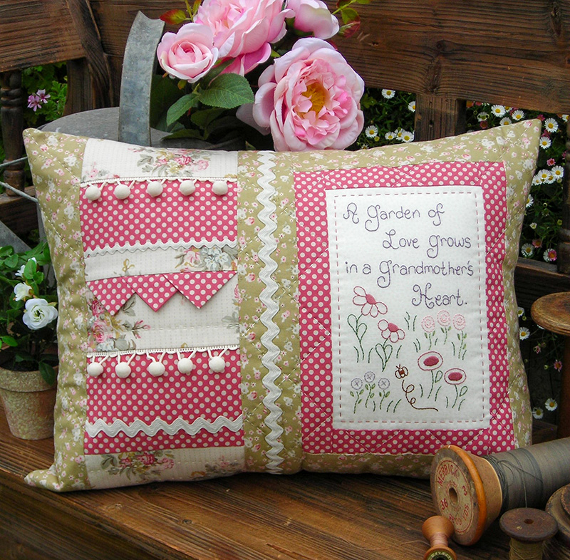 Grandmothers Heart Cushion pattern