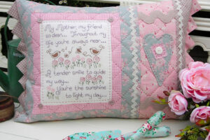My Mother, My Friend Cushion pattern