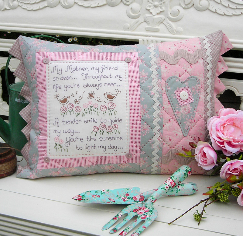 My Mother, My Friend Cushion pattern