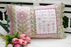A Mothers Heart Cushion pattern