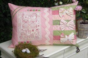 Love Birds Cushion pattern